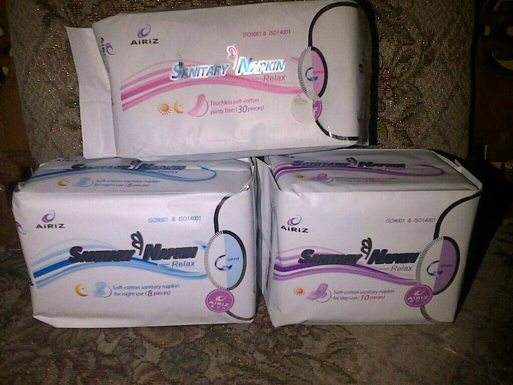 Jual Pembalut Herbal Airiz Tiens Day Use Night Pantyliner Kesehatan Natesh Wellymajesty Tokopedia