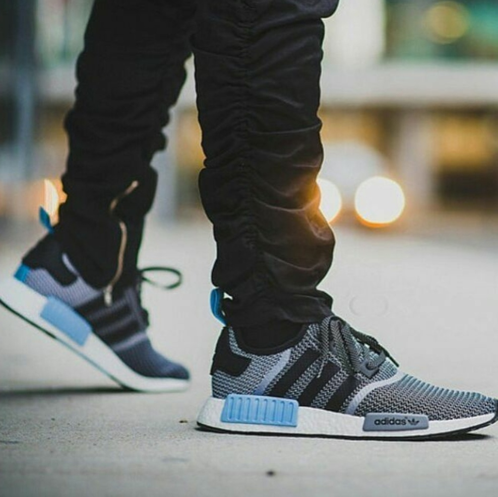 check out 1e36a 312bc Sneakers Sepatu Kets Adidas X Nmd R1 Clear Blue Original Premium