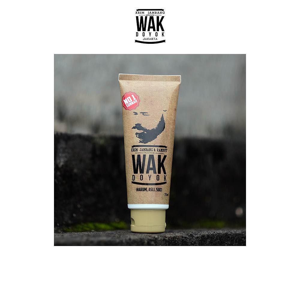 Cream Wak Doyok Jakarta 083897666145 75 Ml Krim Jambang Jenggot Kumis Rambut Alis 100 Original