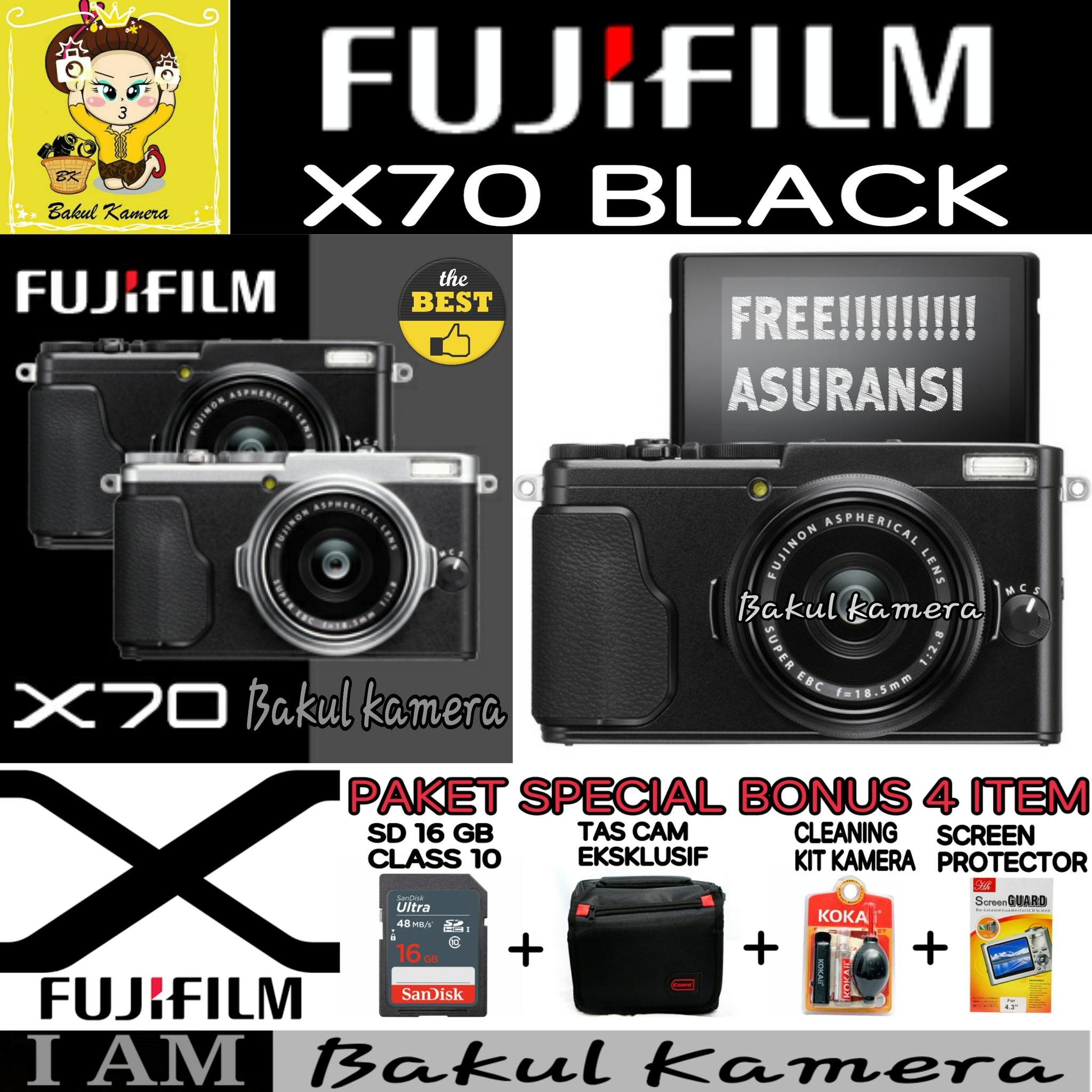 Jual Fujifilm X70 X 70 Bakul Kamera Tokopedia Digital Camera Paket