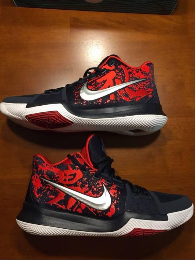 8768d6a67552 ... usa jual sepatu basket nike kyrie 3 samurai black red ganda sport  tokopedia f43a1 8a1a2