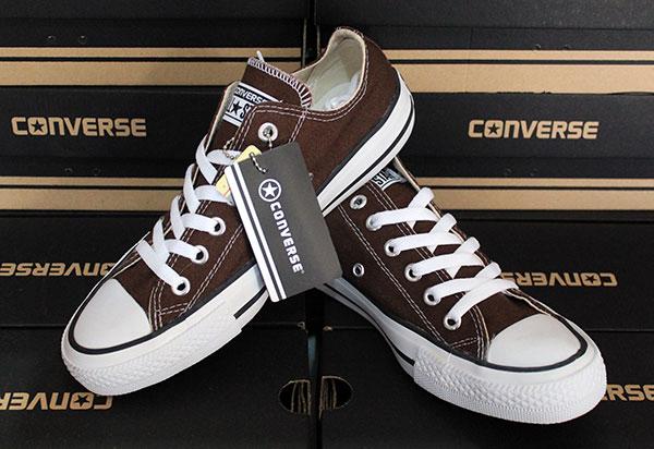 Jual sepatu casual santai murah Converse Allstar Brown - remako ... 125a51e3dc