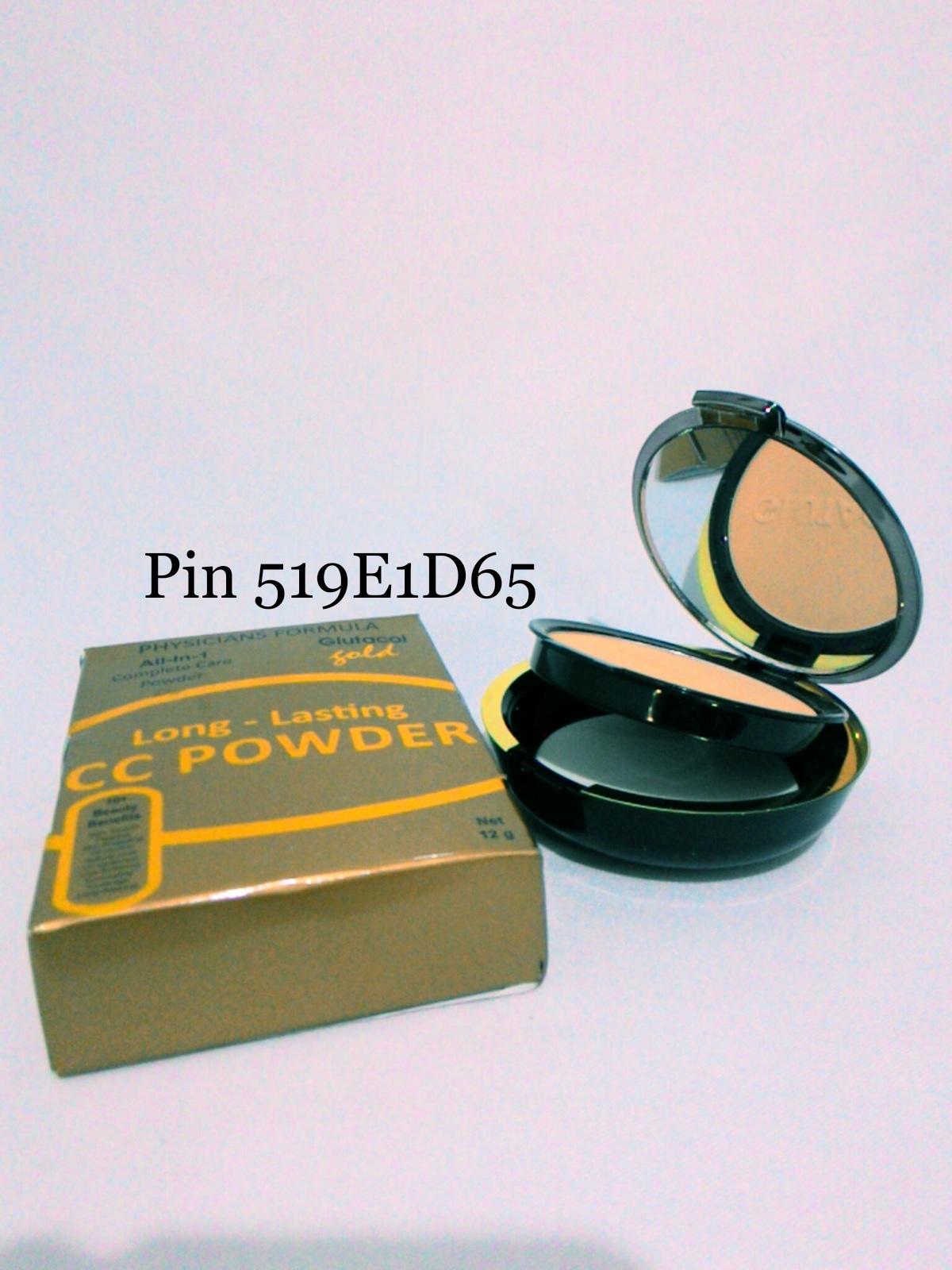 Jual Kulit Mulus Dengan Bedak Cc Powder Glutacol Gold Agen Ertos Original Tokopedia