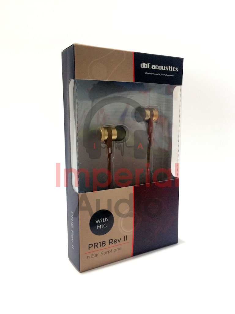Earphone Dbe Acoustics Pr18 Rev 2 With Microphone Cek Harga Ws10 Non Mic Jual