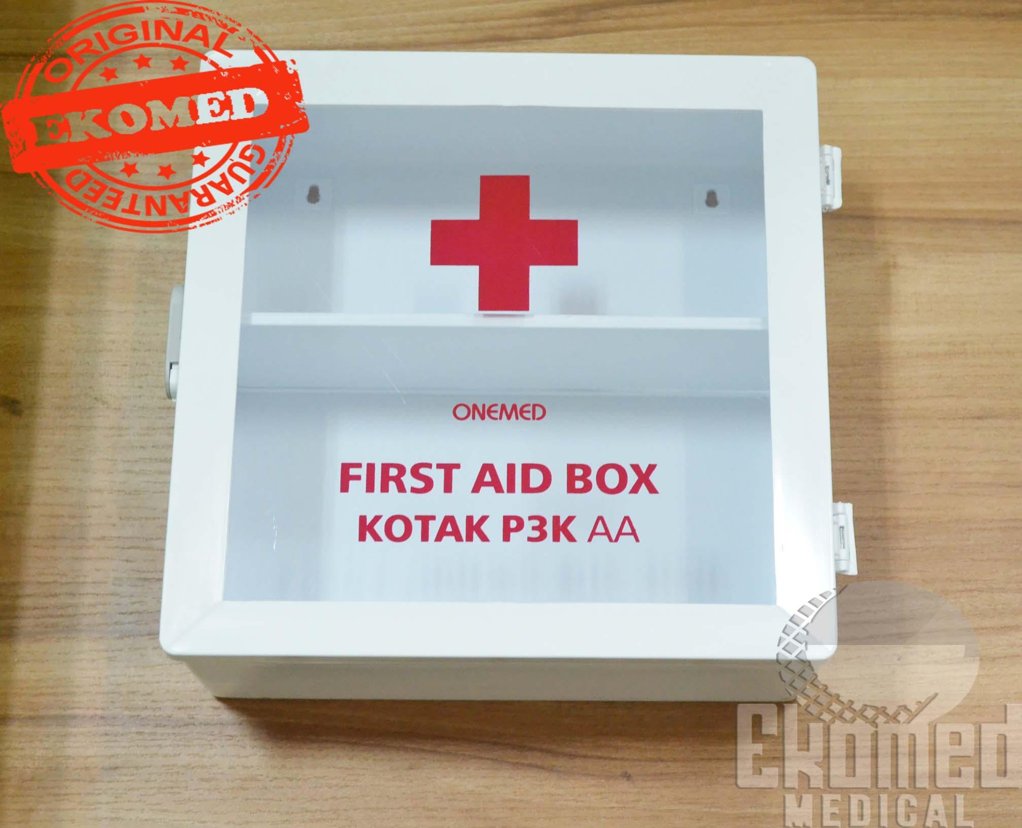 Maspion Kotak P3k First Aid Box Mc 23 Daftar Harga Terbaru Dan Mobil Deluxe Jual Onemed Dinding Putih