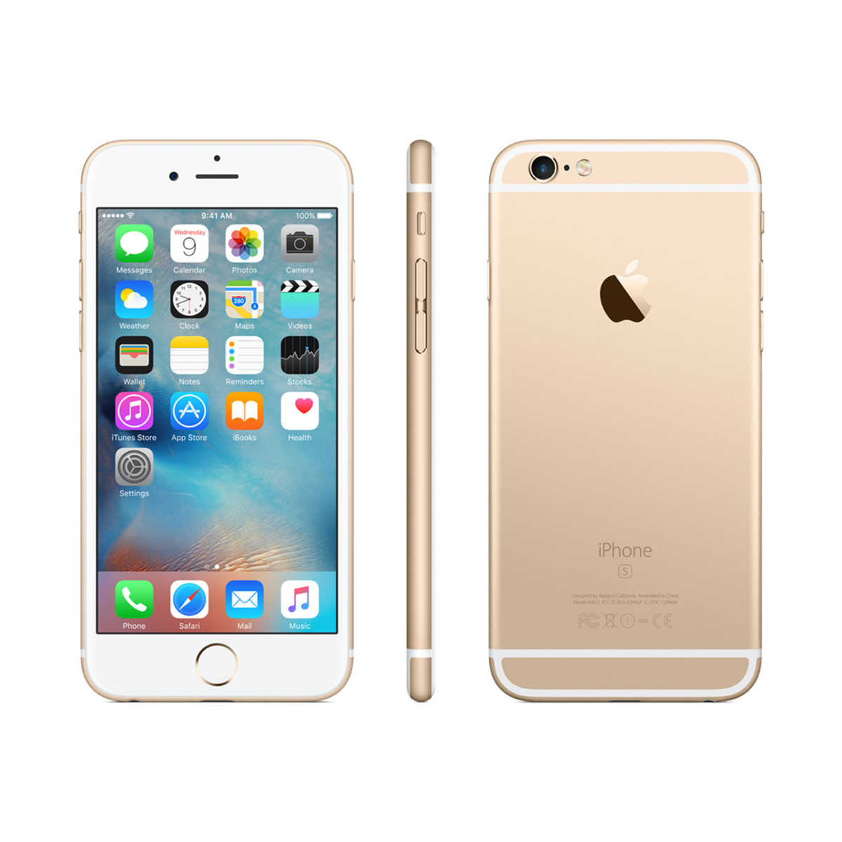 jual new apple iphone 6s 128gb gold garansi distributor 1thn