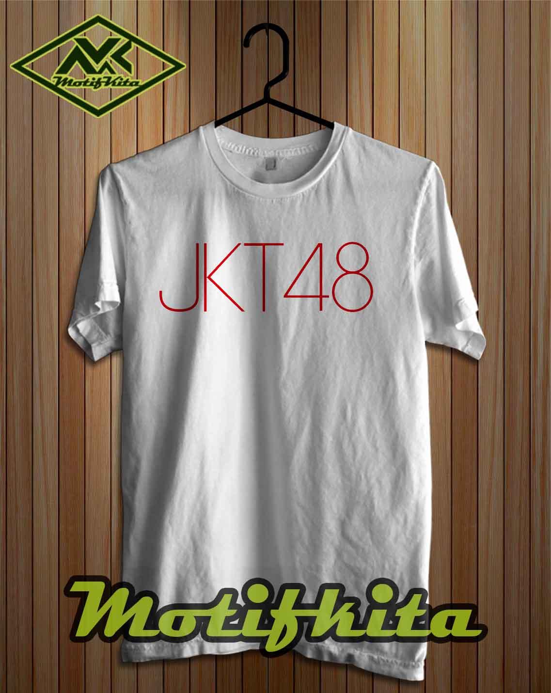 Desain t shirt jkt48 -  Baju Kaos Distro T Shirt Jkt 48 Jkt48 Simple Keren Pria