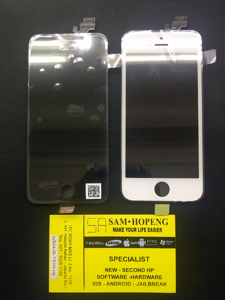 Jual iPhone 5   5S   5C LCD + Touchscreen Original 100% Berg ... 576f695345