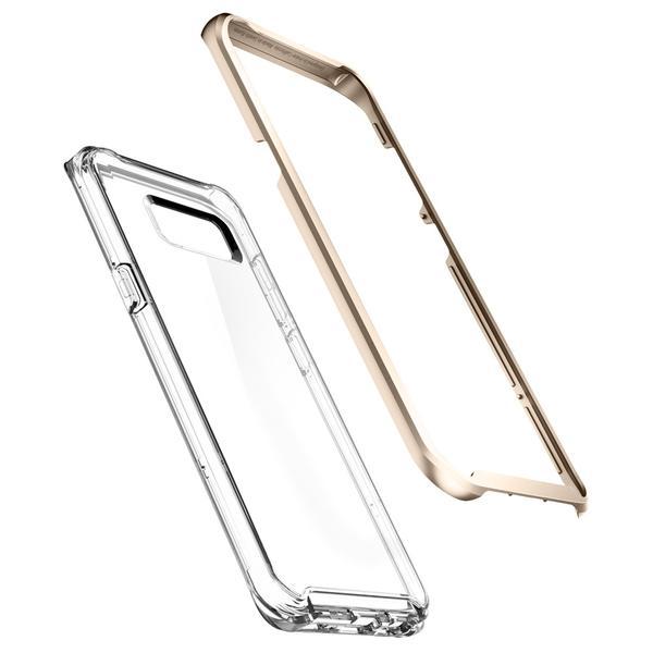 Spigen Galaxy S8 Case Neo Hybrid Crystal Gold Maple