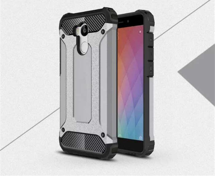 Xiaomi Redmi 4 Prime Defender Armor Case - Soft Gel  Polycarbonate