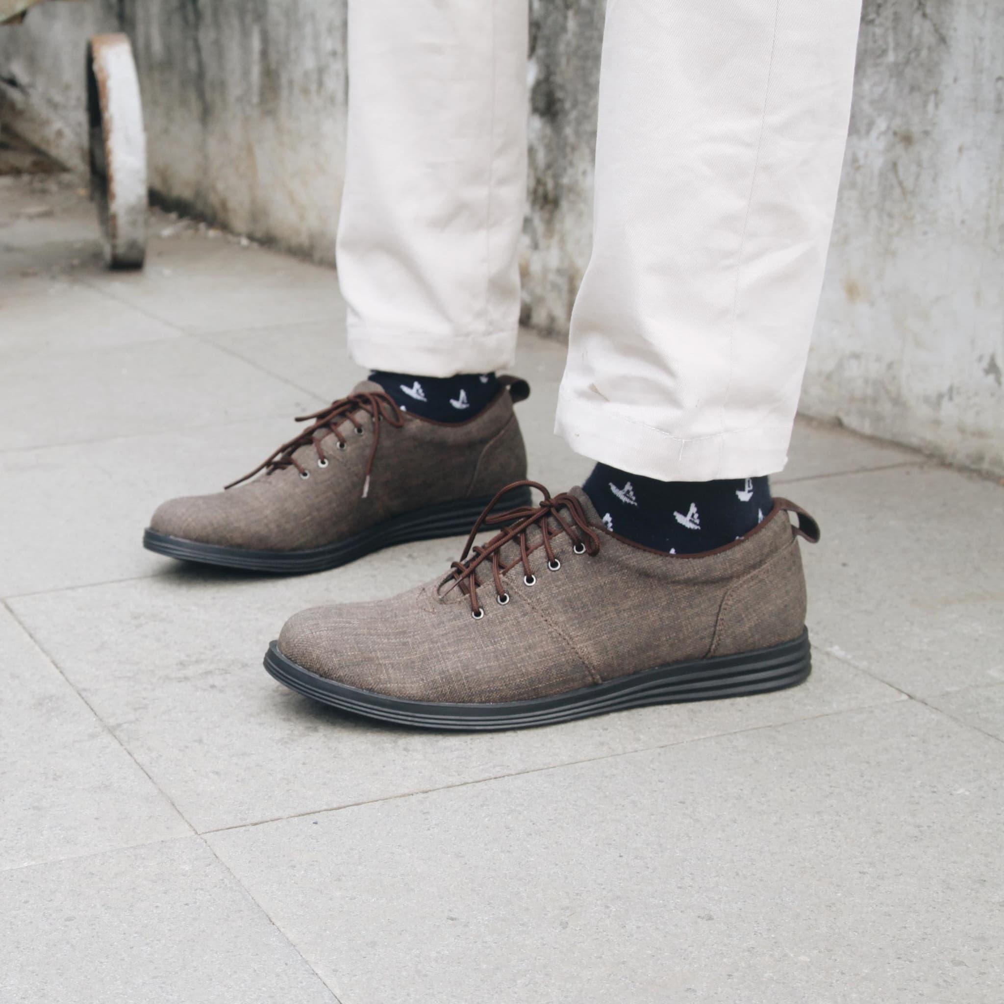 Jual Headway Footwear 33 Nick Brown Sepatu Handmade Bandung 44 Sign