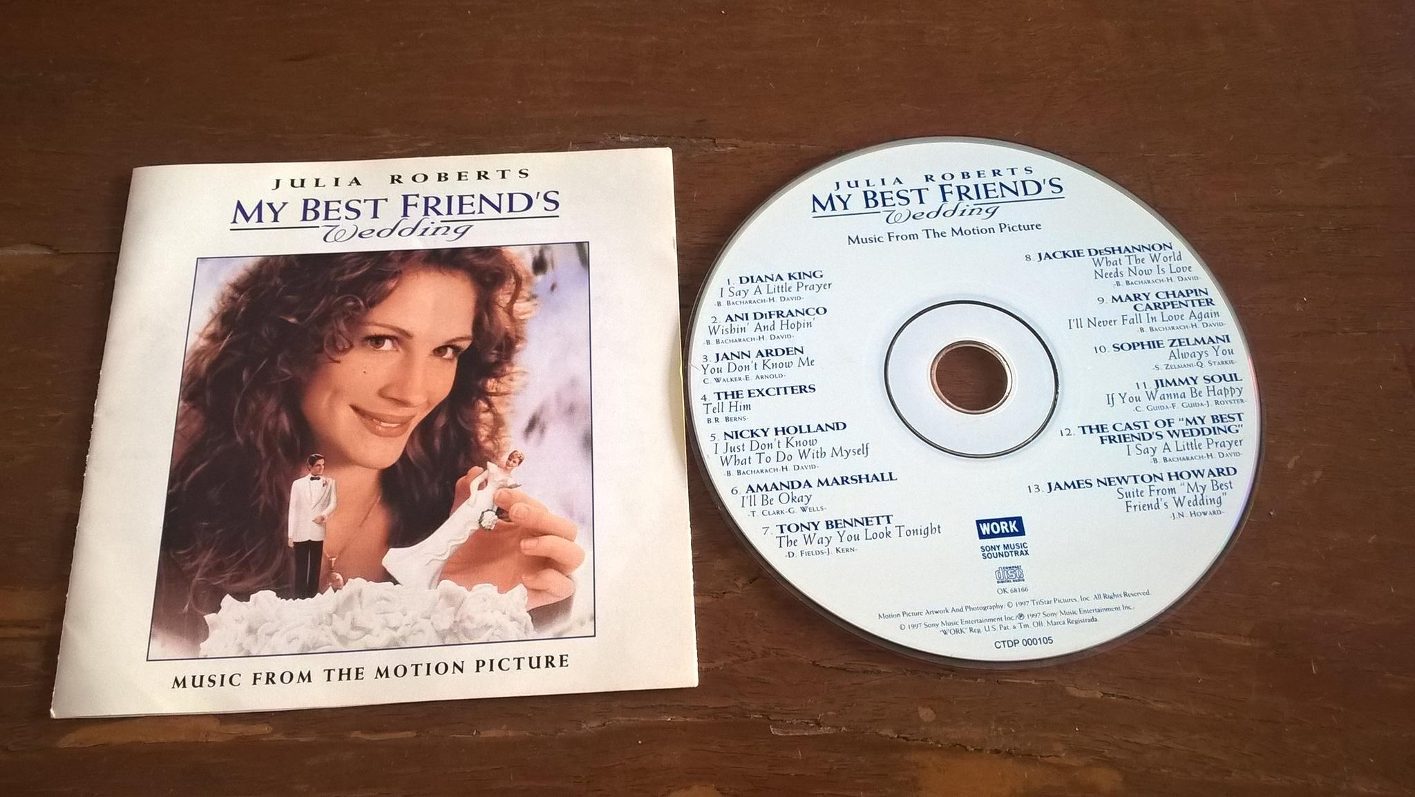 My Best Friend S Wedding Soundtrack.Jual Gratis Ongkir Ost Original Soundtrack Cd My Best