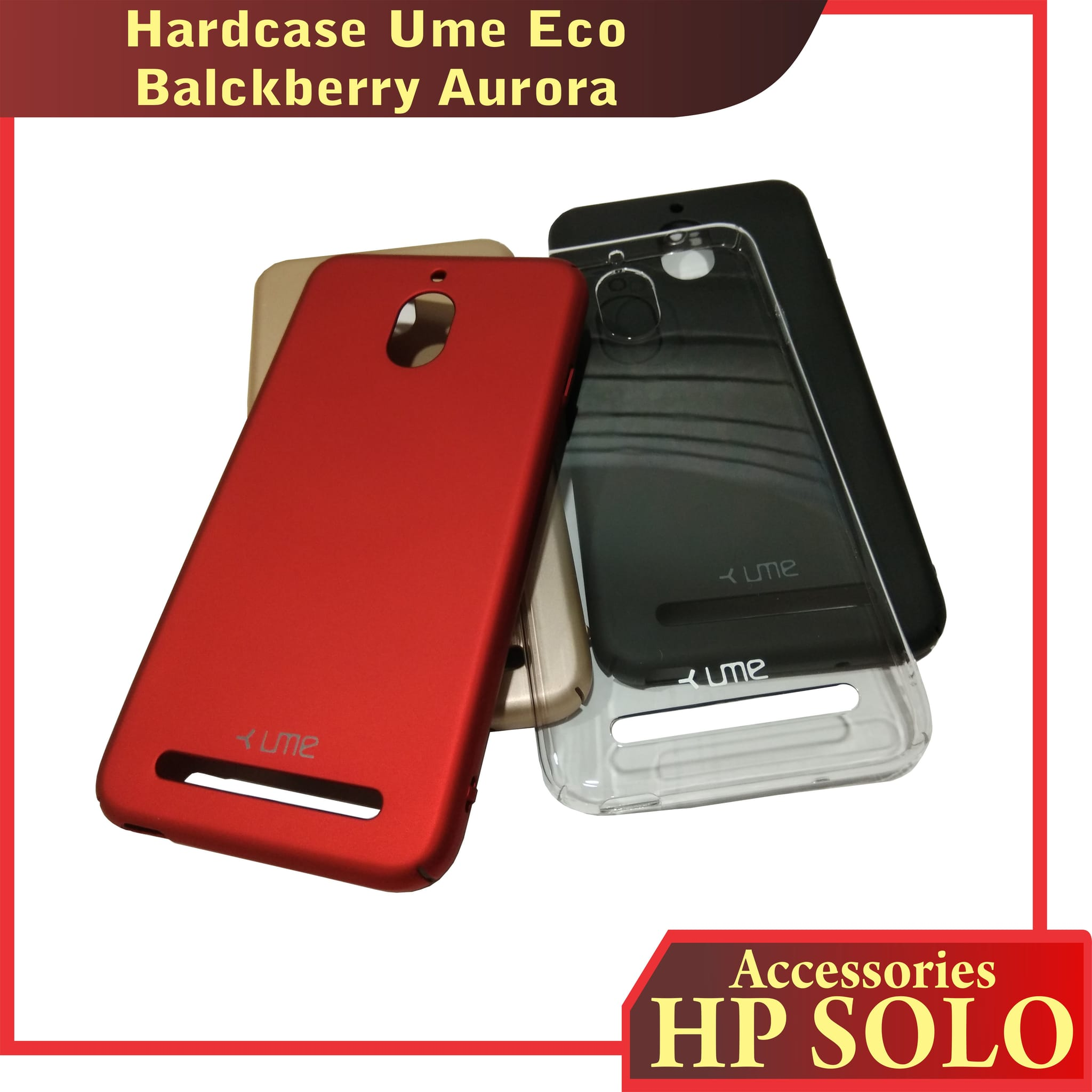 Ultra Thin Soft Source · Jual Hardcase Ume Eco Blackberry Aurora Casing Cover .