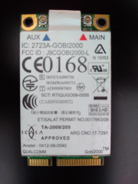Driver UPDATE: Lenovo ThinkPad L512 Qualcomm WWAN