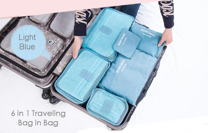 a8828f967d8 Jual TBG - Travel Bag in Bag 6 in 1 - Bag Organizer Pouch - Tas ...