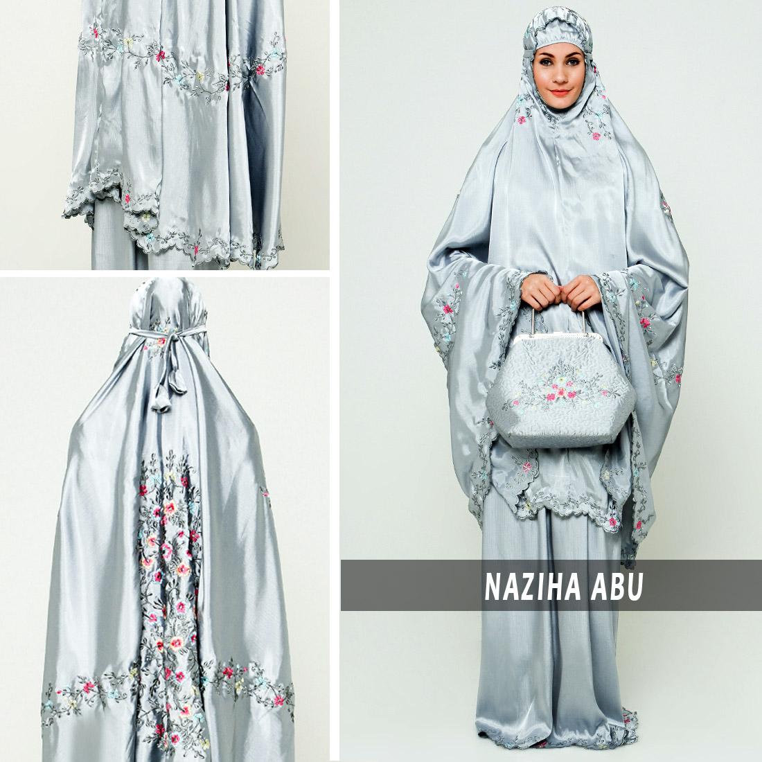Ukhuwah Mukena Naziha Abu Daftar Harga Terkini Dan Terlengkap Bordir Homemade Hafsyah Putih Jual