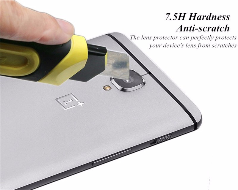 Oneplus 3  3T Back Camera Tempered Glass Lens Protector - Clear