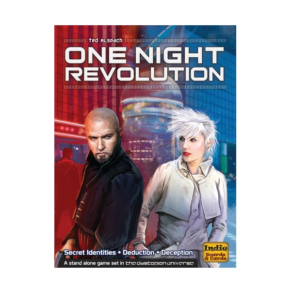 One Night Revolution Board Game - Blanja.com