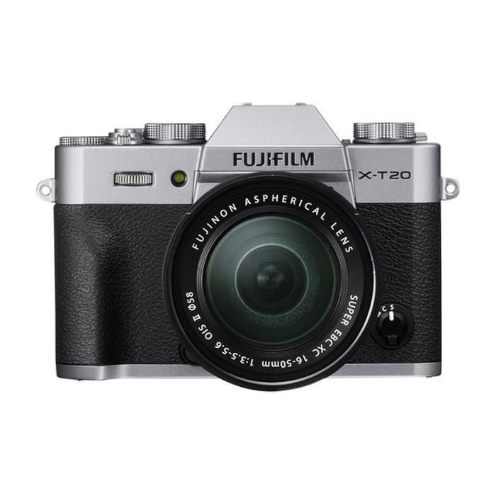 Fujifilm X-T20 16-50mm - Silver & Instax Share - Blanja.com
