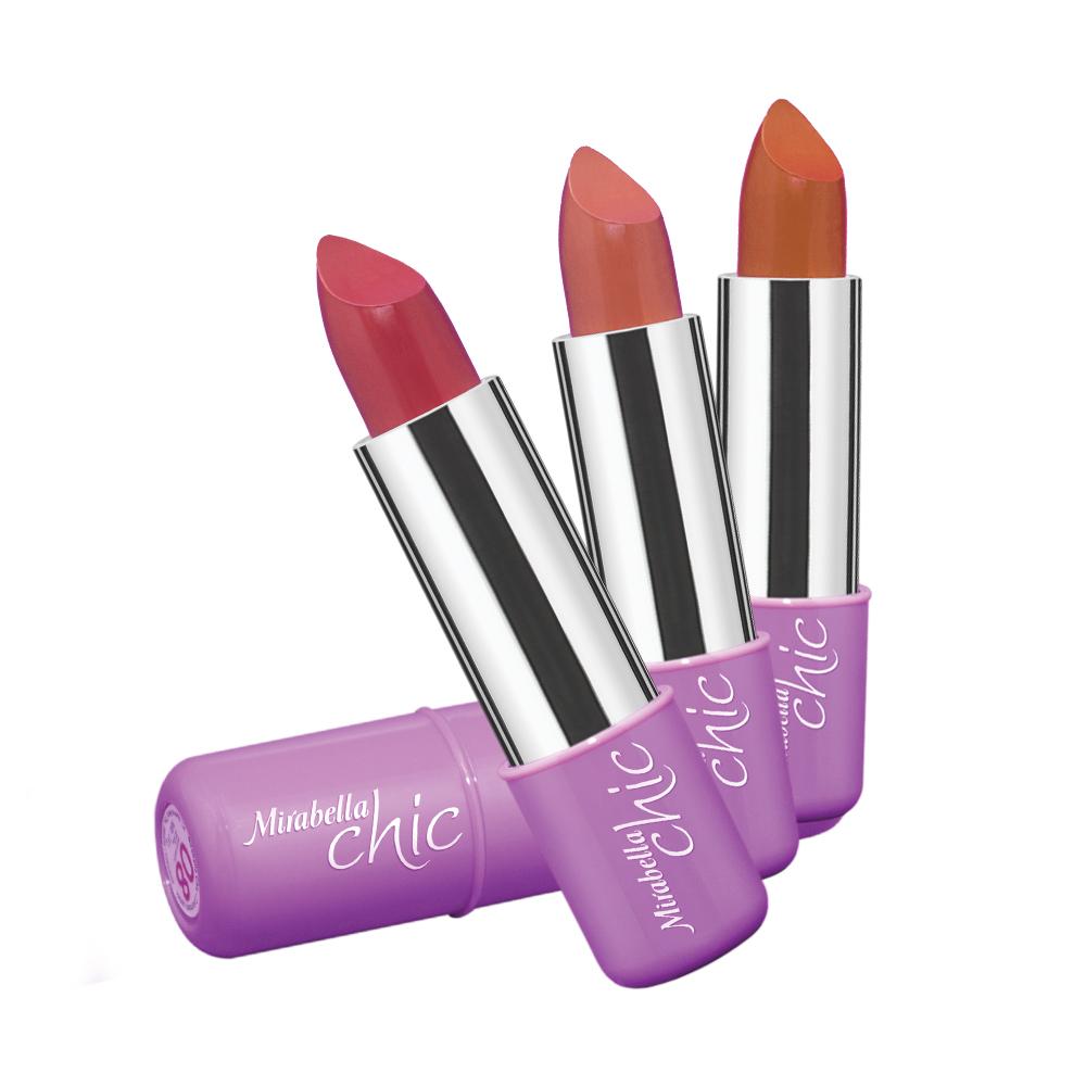 BEST SELLER!! MIRABELLA Chic Moist Lipstick - Blanja.com