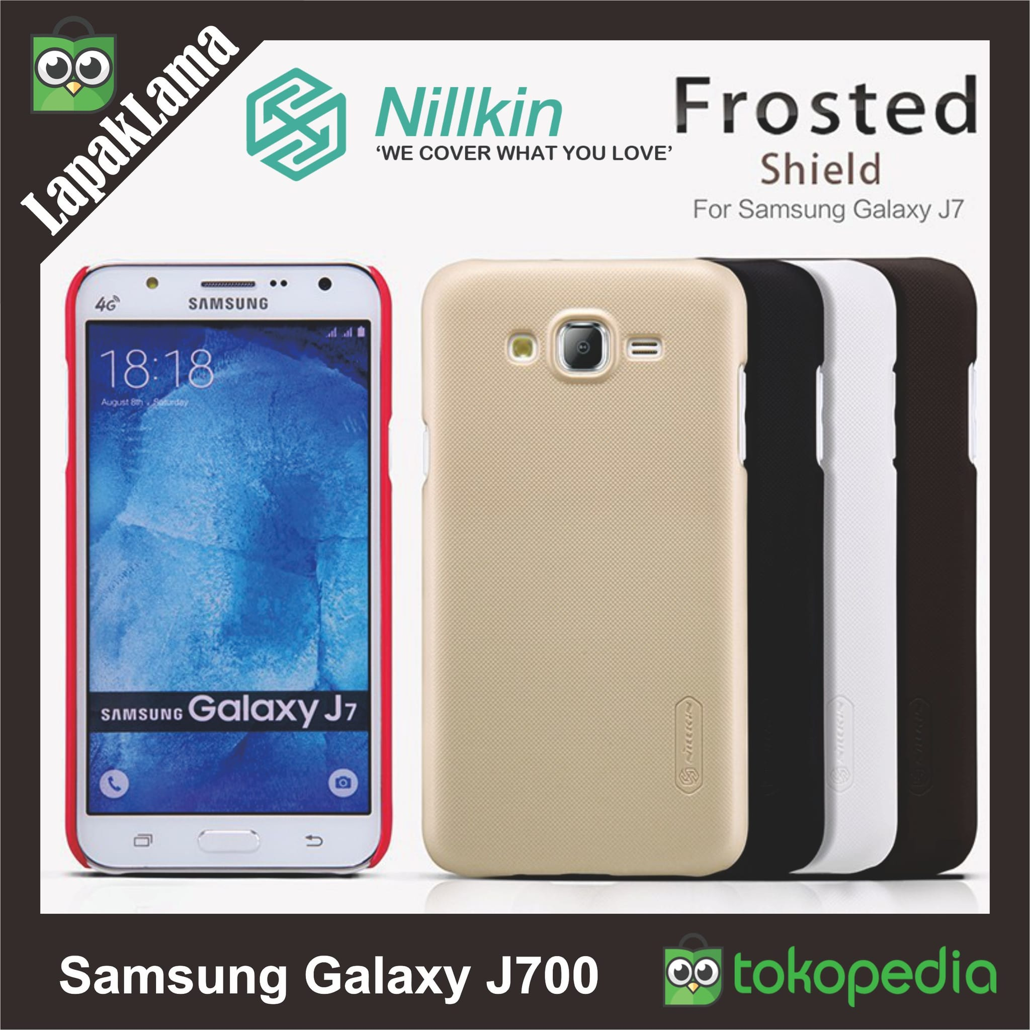 Jual Case Nillkin SAMSUNG GALAXY J7 backcase hardcase Hard back case Casing - lapaklama | Tokopedia