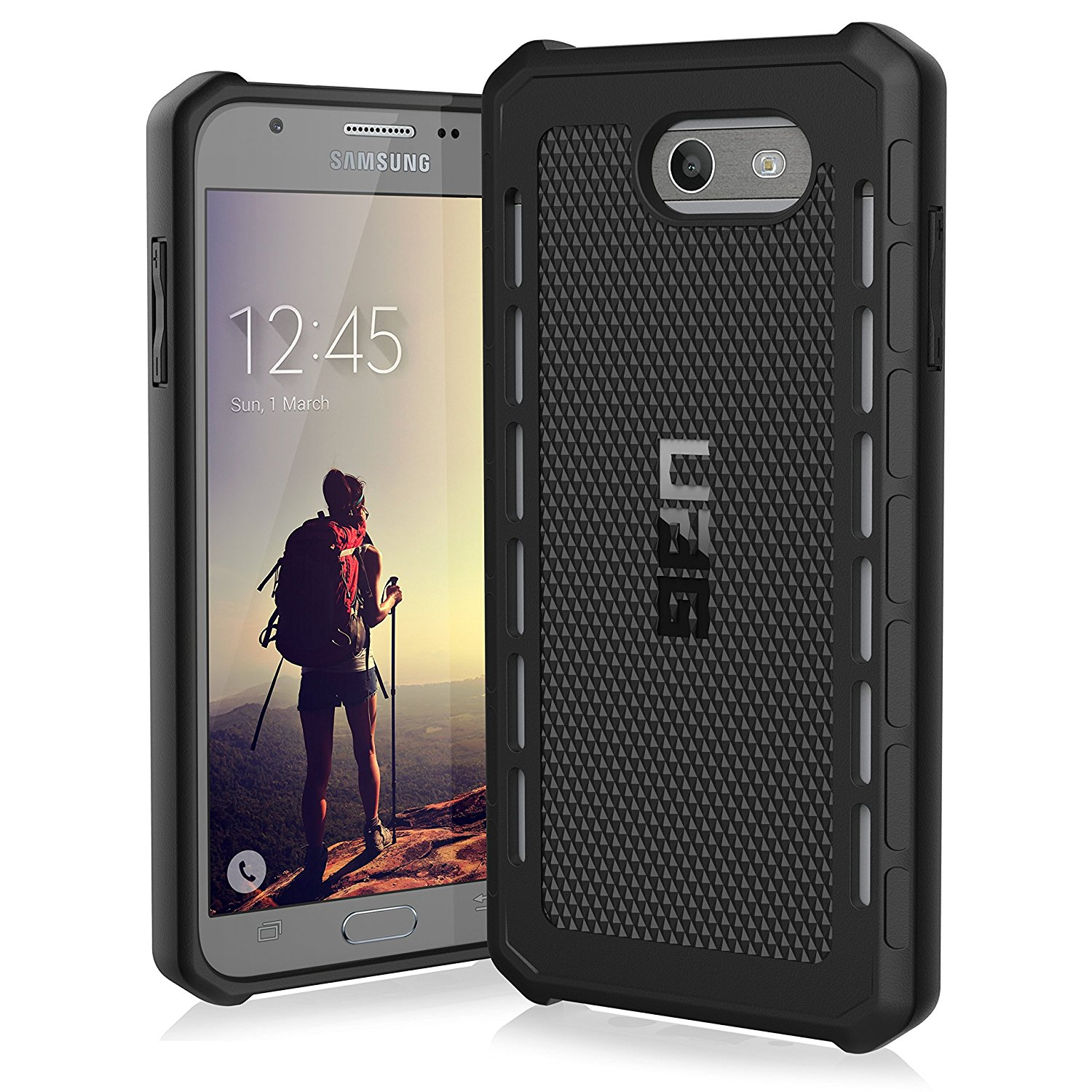 UAG Galaxy J7 2017 Edition Case Outback Series - Black