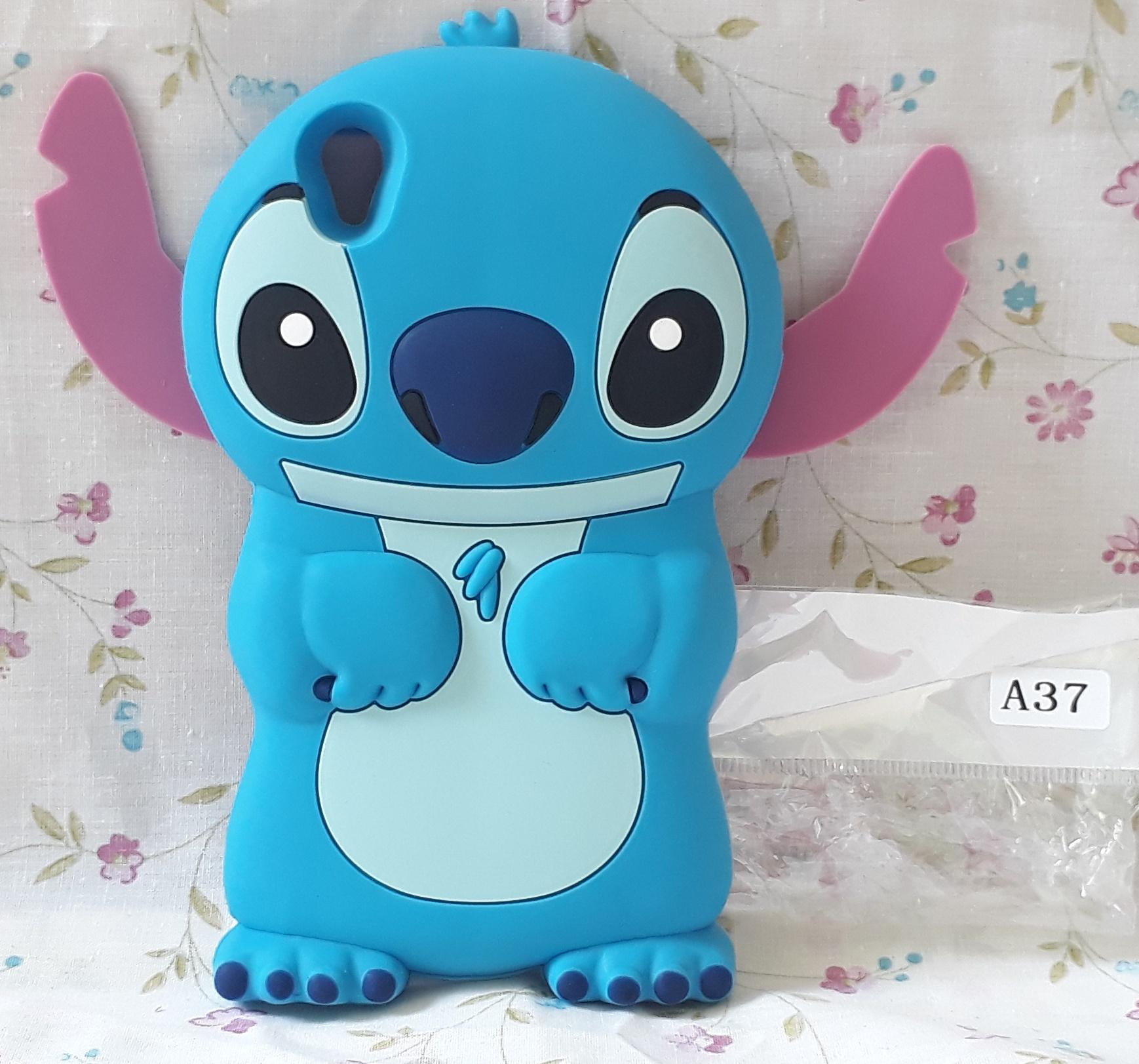 Jual Case 4d Stitch Oppo Neo 9 A37 Karakter Lilo Ear Softcase Tambahan Bubble Soft 3d Nyatacell Tokopedia