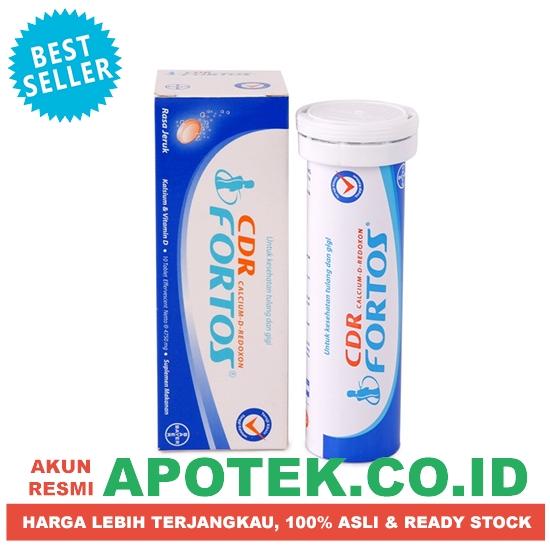 Cdr Fortos 10 Tablet Effervescent - Vitamin Osteoporosis / Tulang Keropos - Blanja .