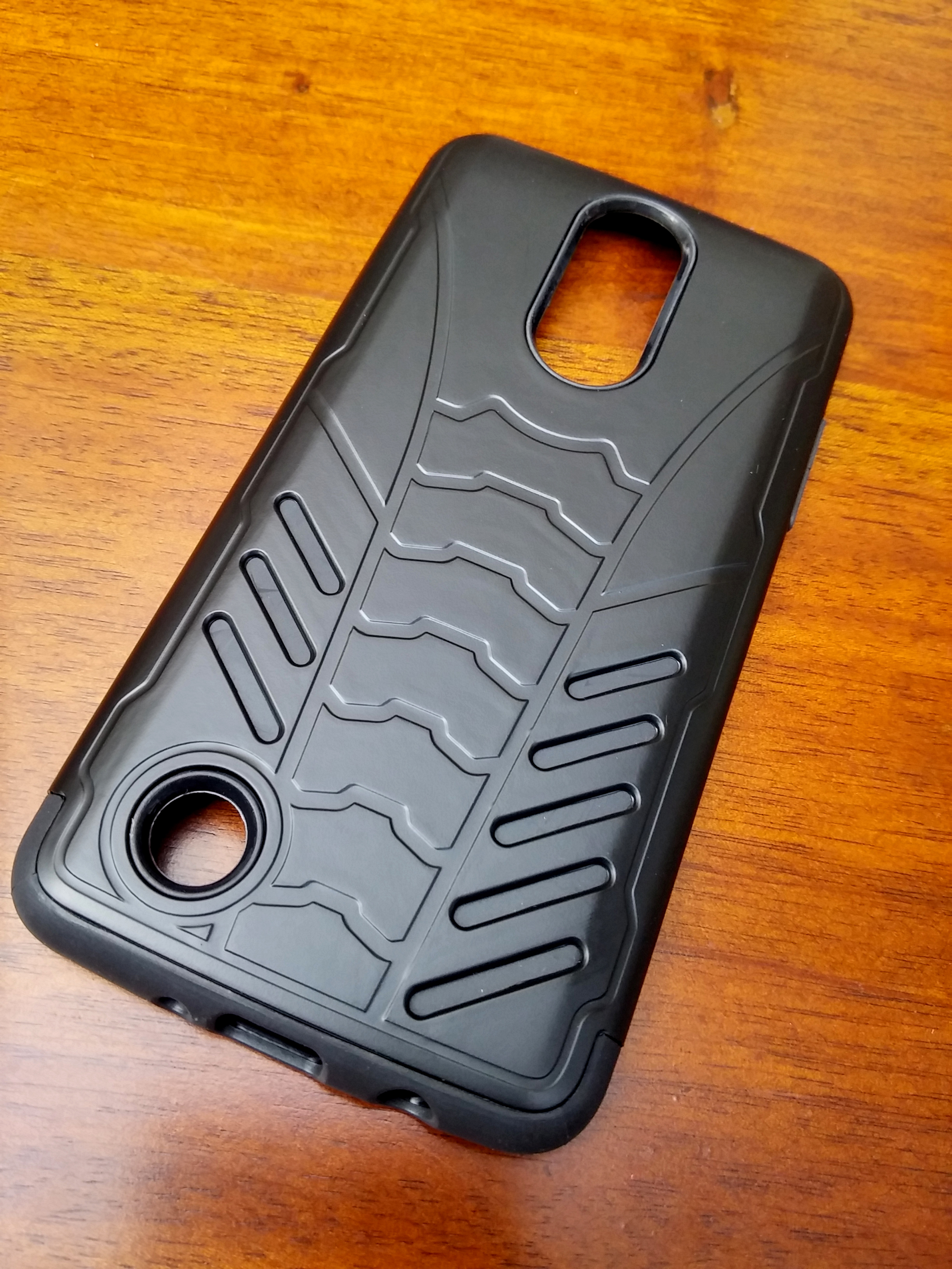 LG K8 2017 BatShield Sporty Dual Layer Armor Case