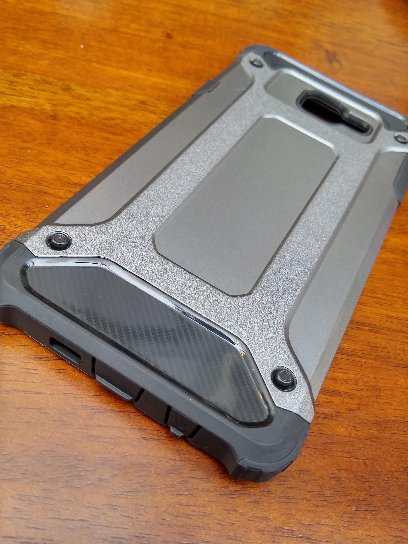 Samsung Galaxy J7 Prime Defender Armor Case - Soft Gel  Polycarbonate