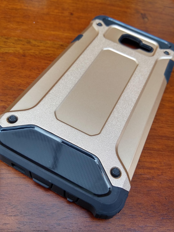 Samsung Galaxy J5 Prime Defender Armor Case - Soft Gel  Polycarbonate