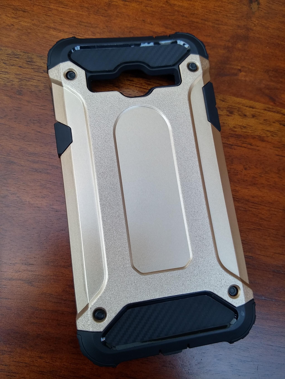 Samsung Galaxy J2 Prime Defender Armor Case - Soft Gel  Polycarbonate
