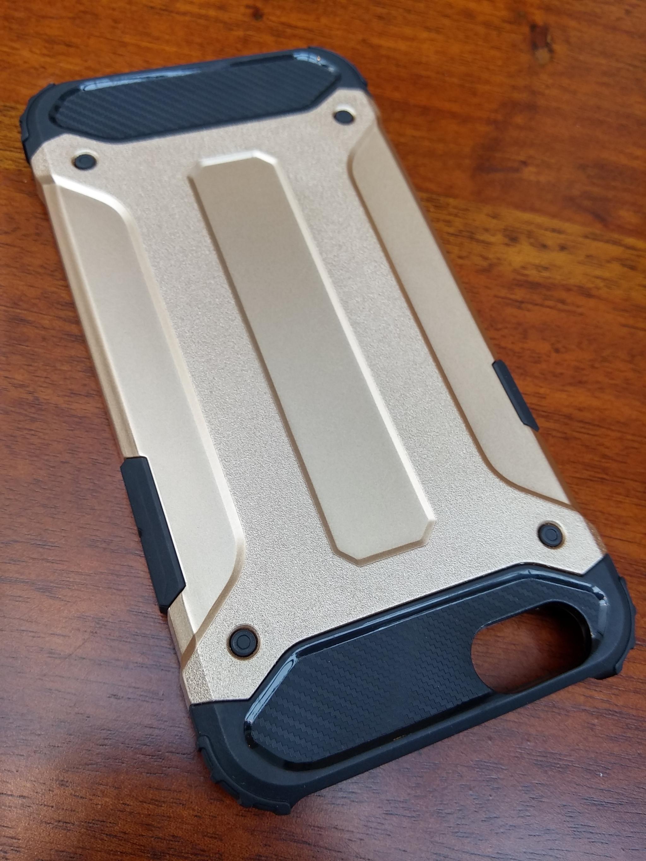 Huawei P8 Lite Defender Armor Case - Soft Gel  Polycarbonate
