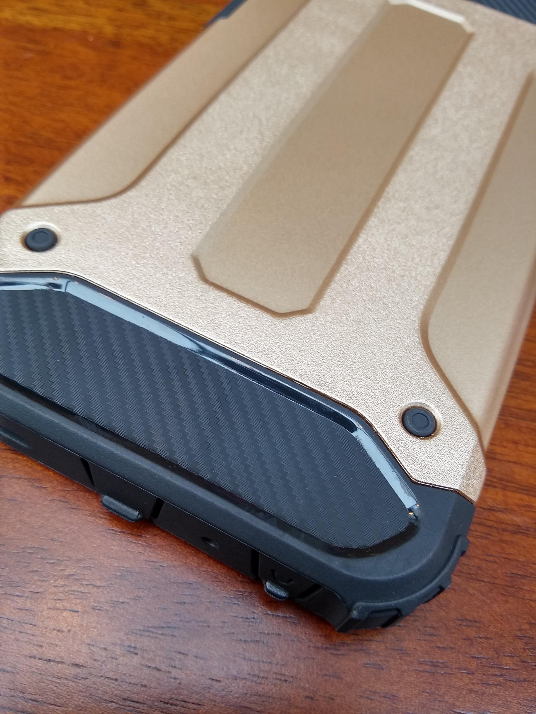 Huawei P8 Defender Armor Case - Soft Gel  Polycarbonate
