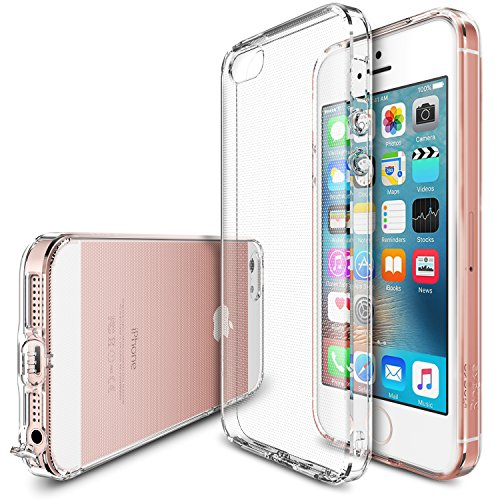 Ringke iPhone 5 - 5S - SE Air Soft Silicone Case - Clear Transparan