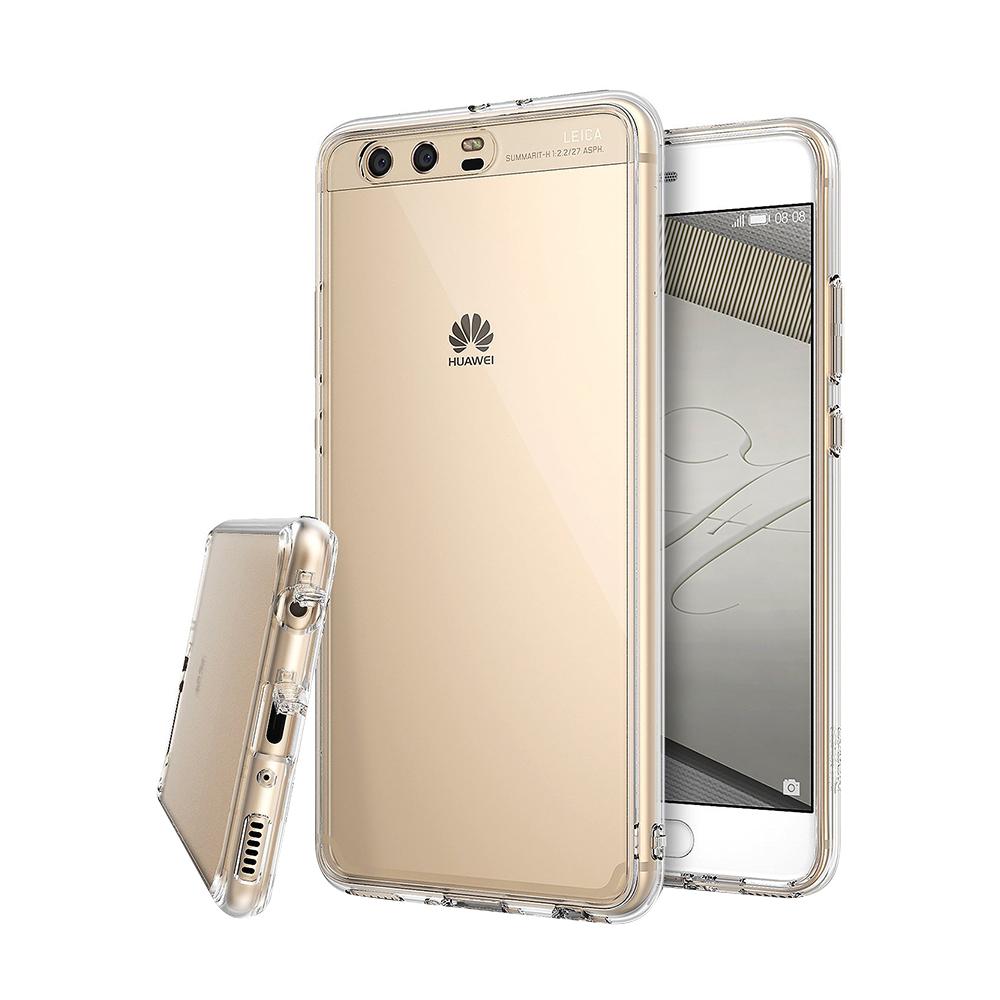 Ringke Huawei P10 Case Fusion Soft Hard Case Casing - Clear Transparan