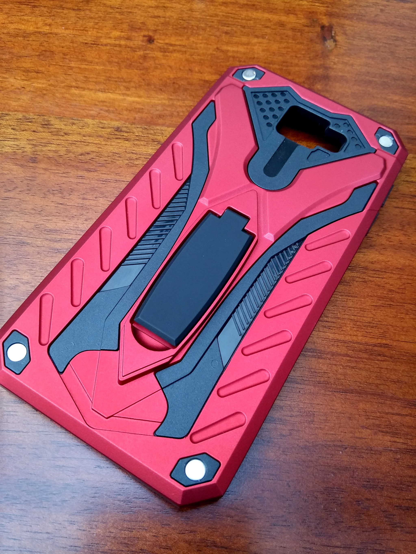 Samsung S7 Flat Knight Armor Dual Layer Case TPU Soft Inner