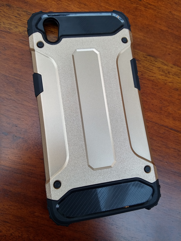 VIVO Y55 Defender Armor Case - Soft Gel  Polycarbonate