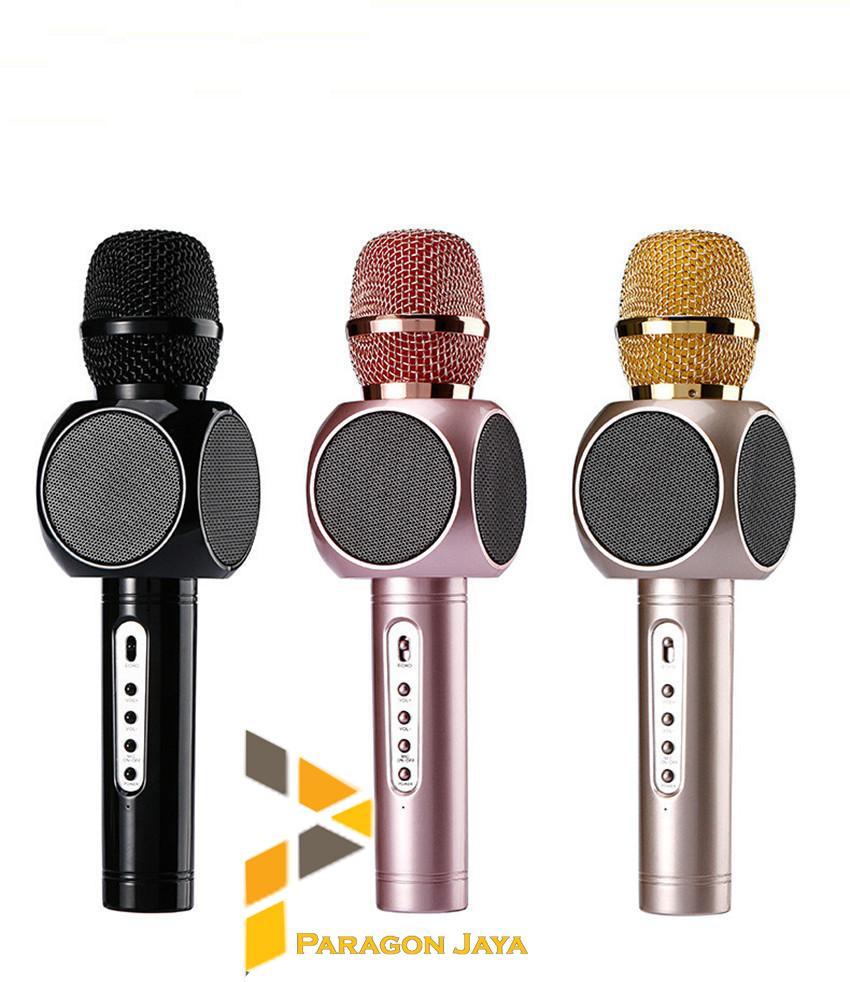 Blz High Quality Microphone 35mm With Mic Holder Hitam Daftar Phrodi M201 Earphone Pod Merah Karsis Magic Karaoke Bluetooth Smule Bigo E103 Speaker Bluet