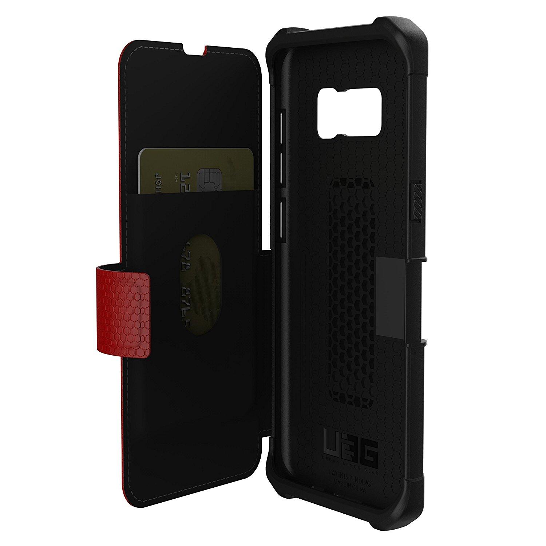 UAG Galaxy S8 Plus Case Metropolis - Magma