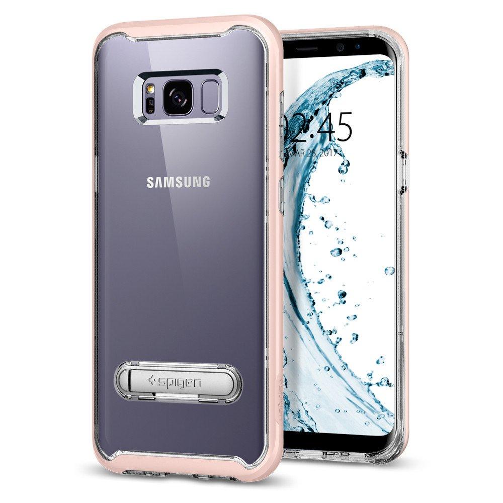 Spigen Samsung Galaxy S8 Case Crystal Hybrid Casing - Pink