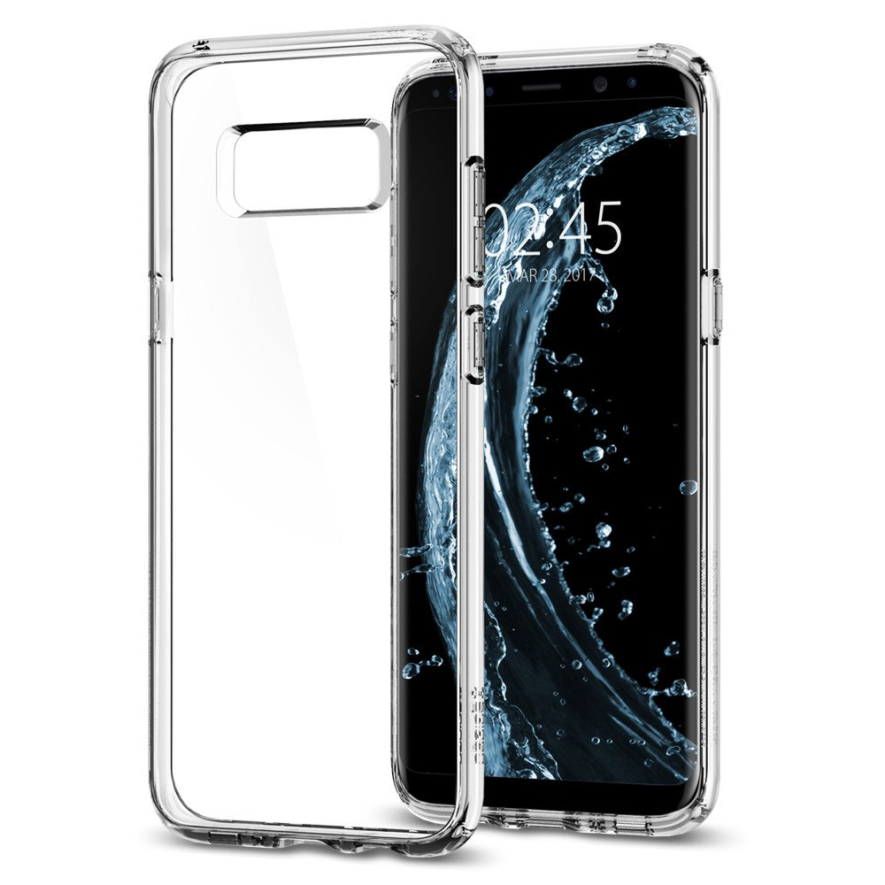 Spigen Samsung Galaxy S8 Case Ultra Hybrid Casing - Crystal Clear