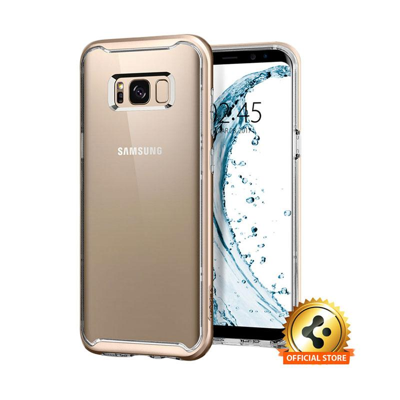 Spigen Samsung Galaxy S8 Case Neo Hybrid Crystal - Gold Maple