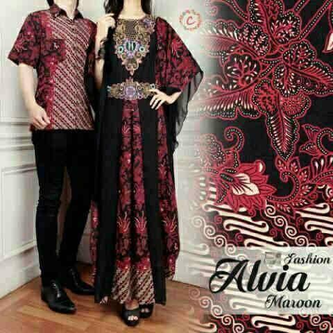 harga baju keluarga couple batik cp busana muslim pasangan sarimbit koko Tokopedia.com