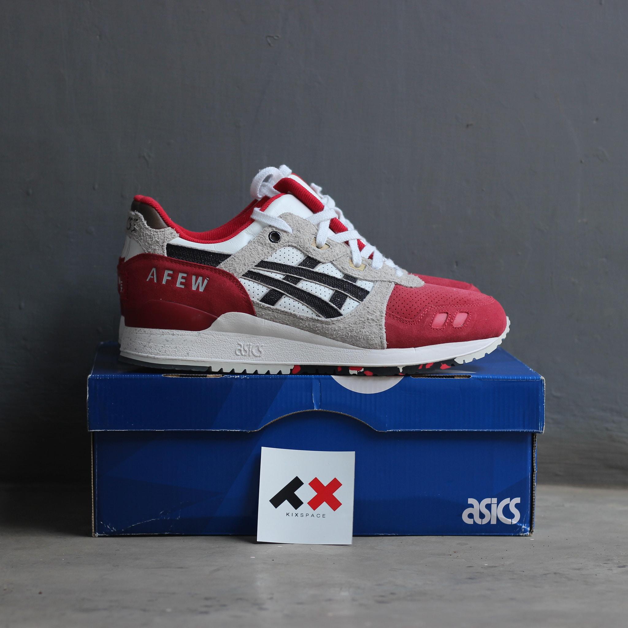 separation shoes fce6c dd79d Jual (ORIGINAL) ASICS GEL LYTE III x AFEW