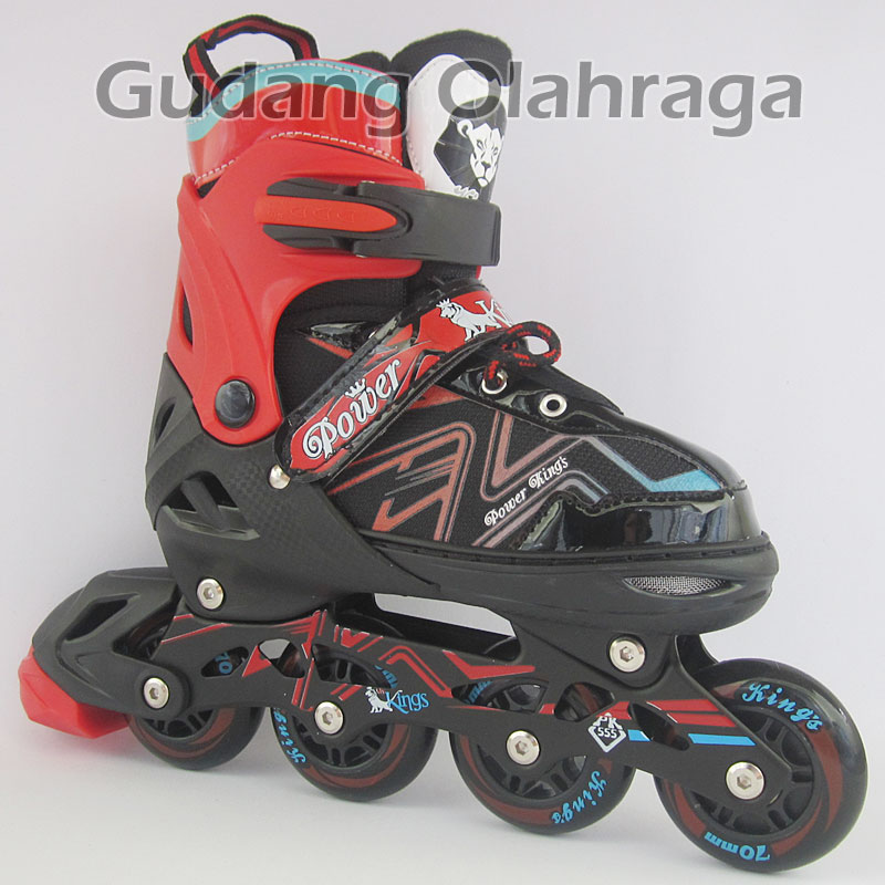 Jual Sepatu Roda Ban Karet   Inline Skate Pu Wheels Anak Dan Dewasa ... 5a14f77310