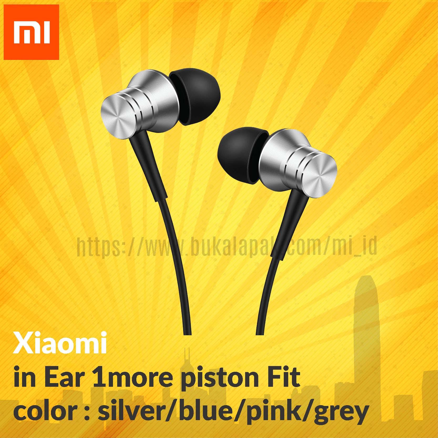 Jual Xiaomi 1more Piston Fit Mistore Tokopedia Earphone In Ear