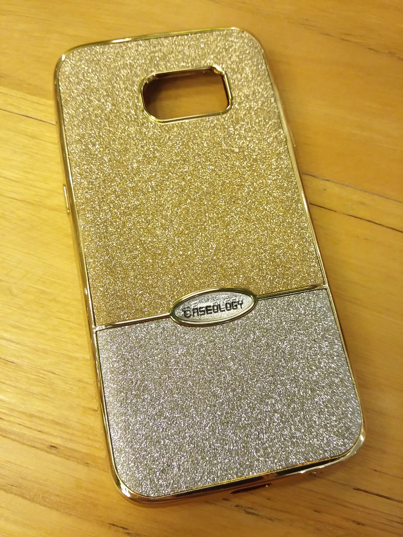 Samsung S7 Flat Caseology Beauty Luxury Blink GoldPlate Soft Case