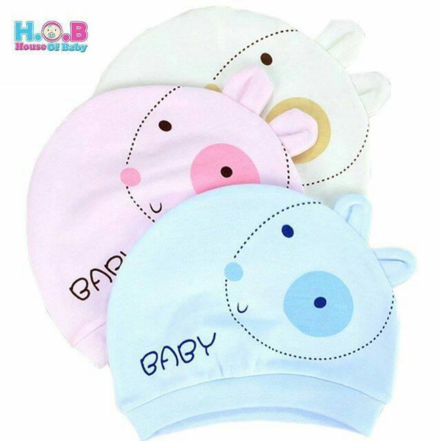 Topi Kupluk Bayi Bunny Cap