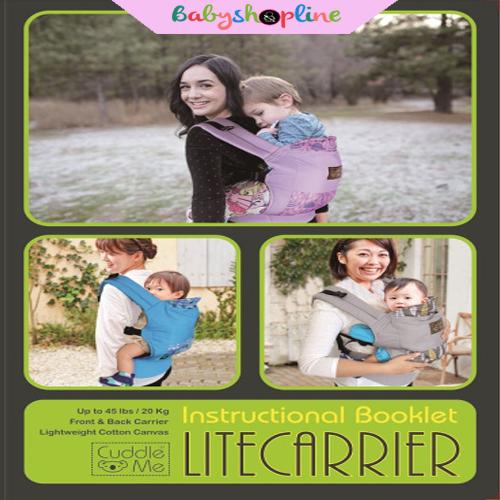 ... Gendongan Bayi Ergo Cuddle Me Lite Carrier Quadrant - Blanja.com